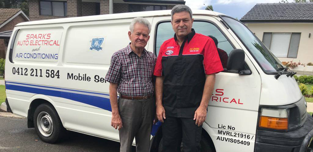 Auto Electrical and Air Conditioning Repair Van
